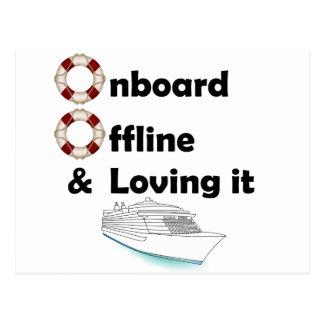 Onboard & Offline Postcard