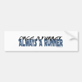 Once a Runner Bumper Sticker