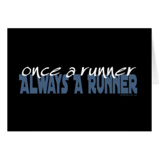 Once a Runner Card