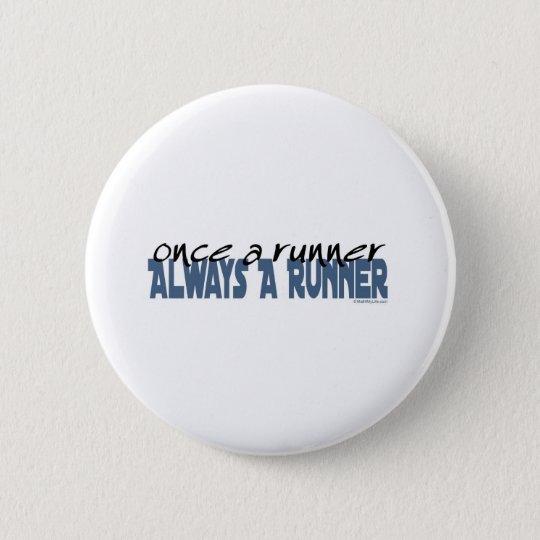 Once a Runner Pinback Button