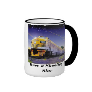 Once a Shooting Star #5771 of the Rio Grande Zephy Ringer Coffee Mug