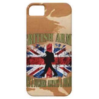 Once A Soldier…. always A Soldier… UK iPhone SE/5/5s Case