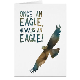 once an eagle always an eagle card