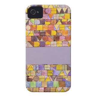 Once Emerged from the Gray of Night by Paul Klee Case-Mate iPhone 4 Case