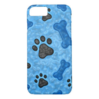 Once in a blue dog iPhone 7 case
