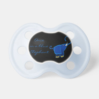 Once in a blue Elephant Baby Pacifiers