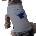 Once in a blue Elephant Doggie T-shirt