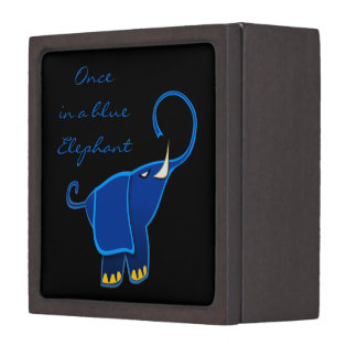 Once in a blue Elephant Premium Jewelry Boxes