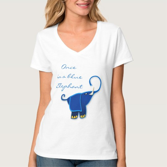Once in a blue Elephant T-Shirt