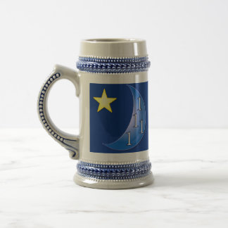 Once in a Blue Moon Beer Stein