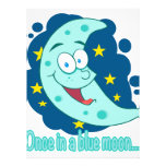 once in a blue moon cartoon announcement