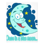 once in a blue moon cartoon invite