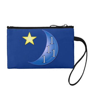 Once in a Blue Moon Coin Wallet