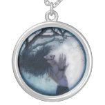 Once, in a blue moon... custom necklace