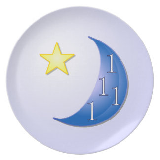 Once in a Blue Moon Dinner Plate