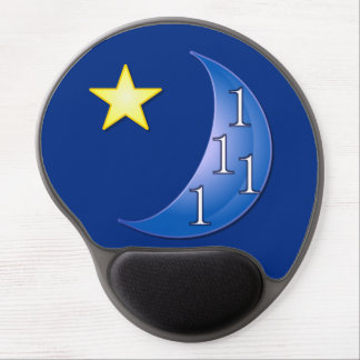 Once in a Blue Moon Gel Mouse Pad