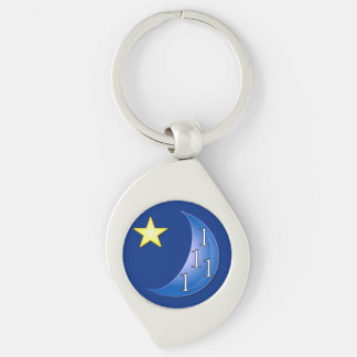 Once in a Blue Moon Keychain