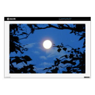 Once-in-a-Blue-Moon Laptop Skin