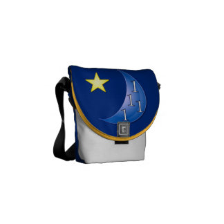 Once in a Blue Moon Courier Bags