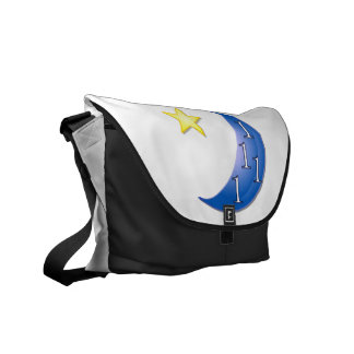 Once in a Blue Moon Courier Bag