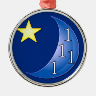 Once in a Blue Moon Christmas Ornaments