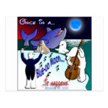 ONCE IN A BLUE MOON POSTCARDS