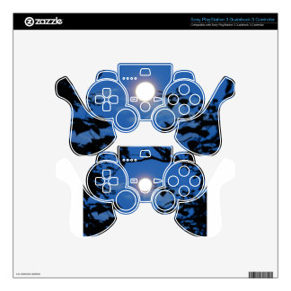 Once-in-a-Blue-Moon PS3 Controller Decal