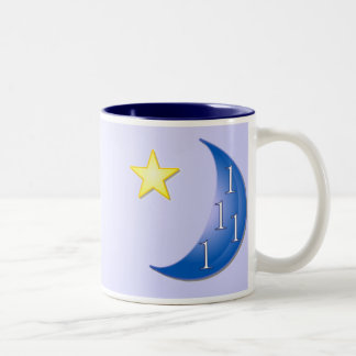 Once in a Blue Moon Two-Tone Coffee Mug