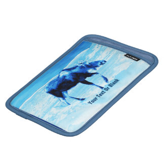 Once In A Blue Moose Sleeve For iPad Mini