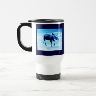 Once In A Blue Moose Travel Mug