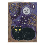 Once in a Lucky Blue Moon Greeting Card