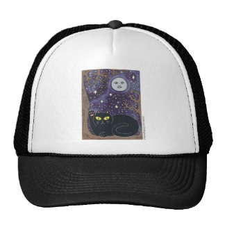 Once in a Lucky Blue Moon Mesh Hats