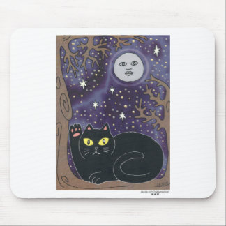 Once in a Lucky Blue Moon Mouse Pad