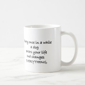 Once In A While (Dog) Animal Rescue Mug