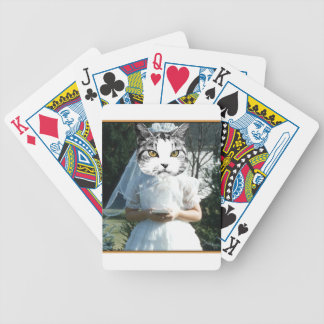 Once Kitten Now Cat Bicycle Playing Cards