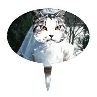Once Kitten Now Cat Cake Topper