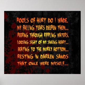 Once Myself Poem Print
