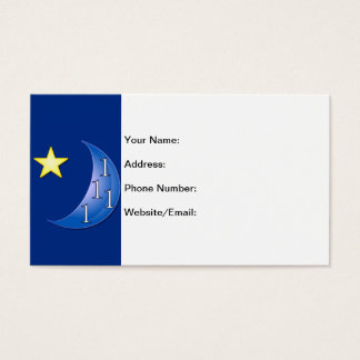 Once or Ones in a Blue Moon Business Card