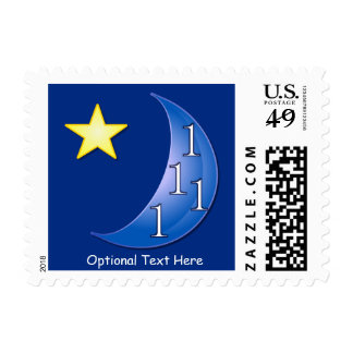 Once or Ones in a Blue Moon Postage