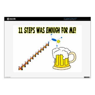 Once pasos eran bastante alcohólico calcomanía para 38,1cm portátil