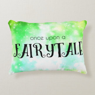 Once Upon a Fairytale Accent Pillow