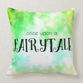 Once Upon a Fairytale Throw Pillow