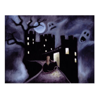 Once Upon a Haunted Fairy Tale Post Card
