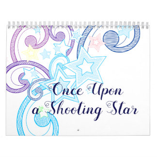 Once Upon a Shooting Star Calendar