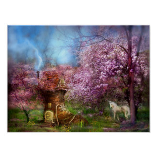 Once Upon A Springtime Art Mural Posters