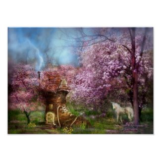 Once Upon A Springtime Art Poster/Print