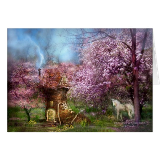 Once Upon A Springtime ArtCard Card