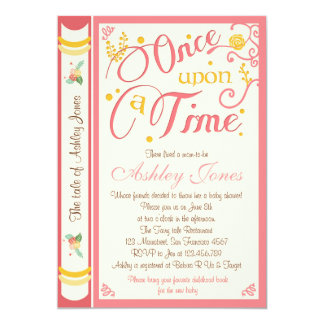 Superb Once Upon A Time Baby Shower Invitation Fairy Tale
