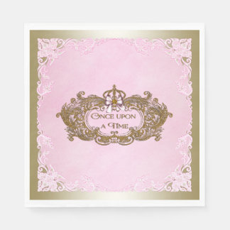 Once Upon a Time Birthday Party Napkin