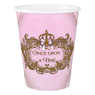 Once Upon A time Birthday Party Paper Cup